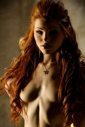 Redhead Beauty Jayme Langford